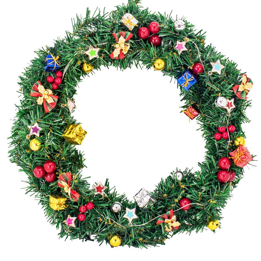 Amazon Com Christmas Wreath Set Artificial Diy Hanging