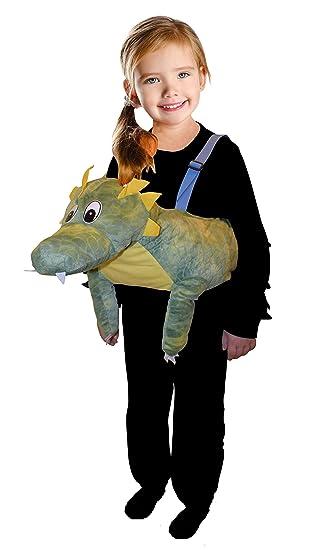 Disfraz de dragón F131 Tamaño 3-5 años (98-116 cm) Disfraz de niño ...