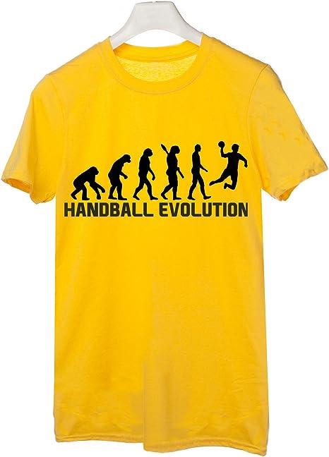 t-shirteria Camiseta Handball Evolution – Evolution – Handball ...