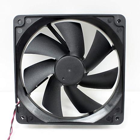 LOT 5 80mm PC Computer Desktop Red LED Case Fan 4 3Pin
