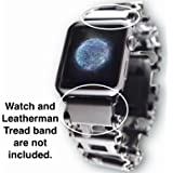 Leatherman Link- watch adapter for LEATHERMAN TREAD - Black DLC (Apple 42mm, Black DLC)