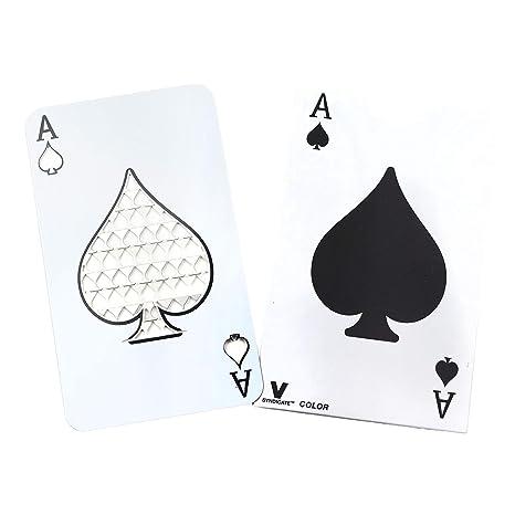 Amazon.com: V. Syndicate Ace of spades jugando tarjeta ...