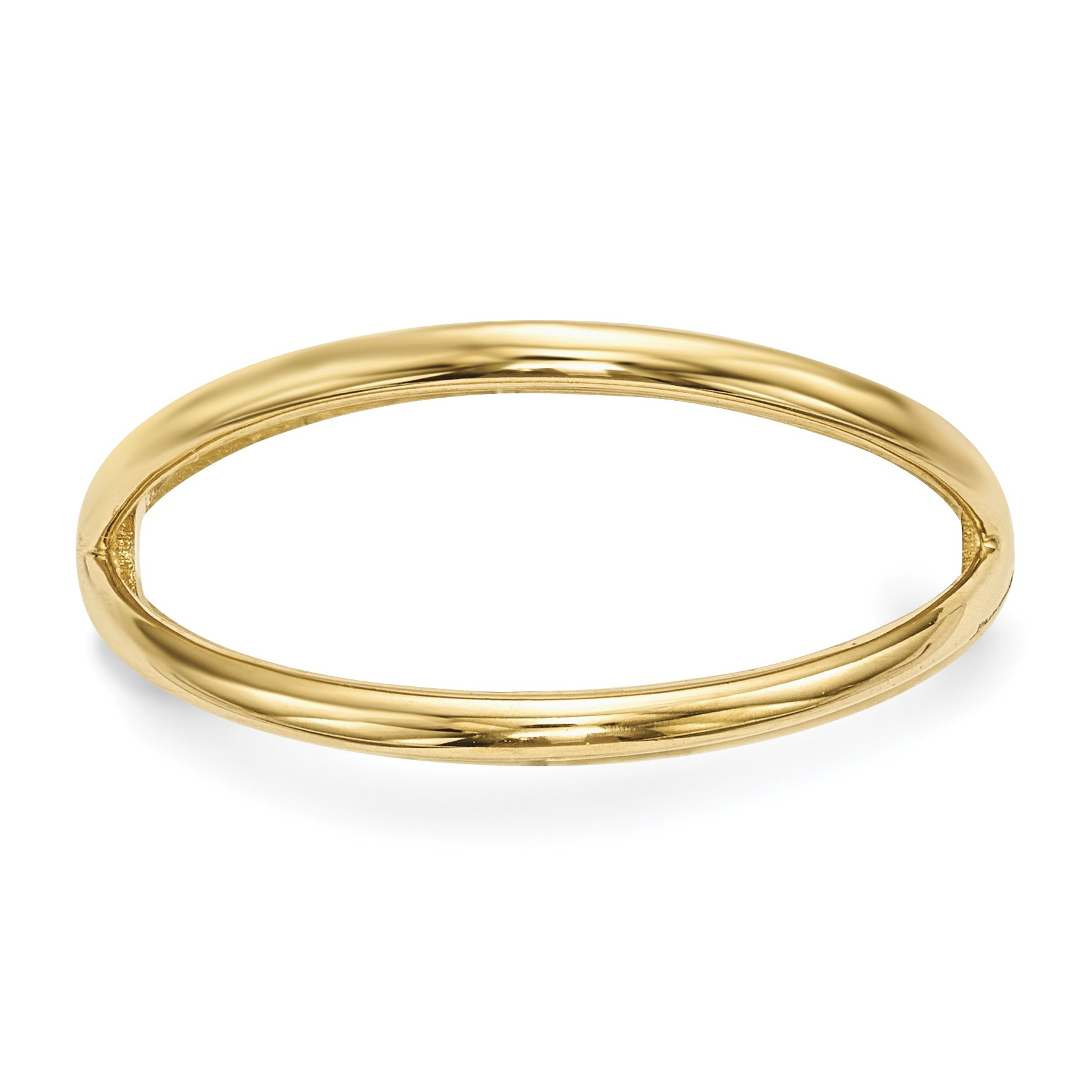 ICE CARATS 14k Yellow Gold Double Band Ring Size 7.00 Fine Jewelry Gift Set For Women Heart by ICE CARATS (Image #2)