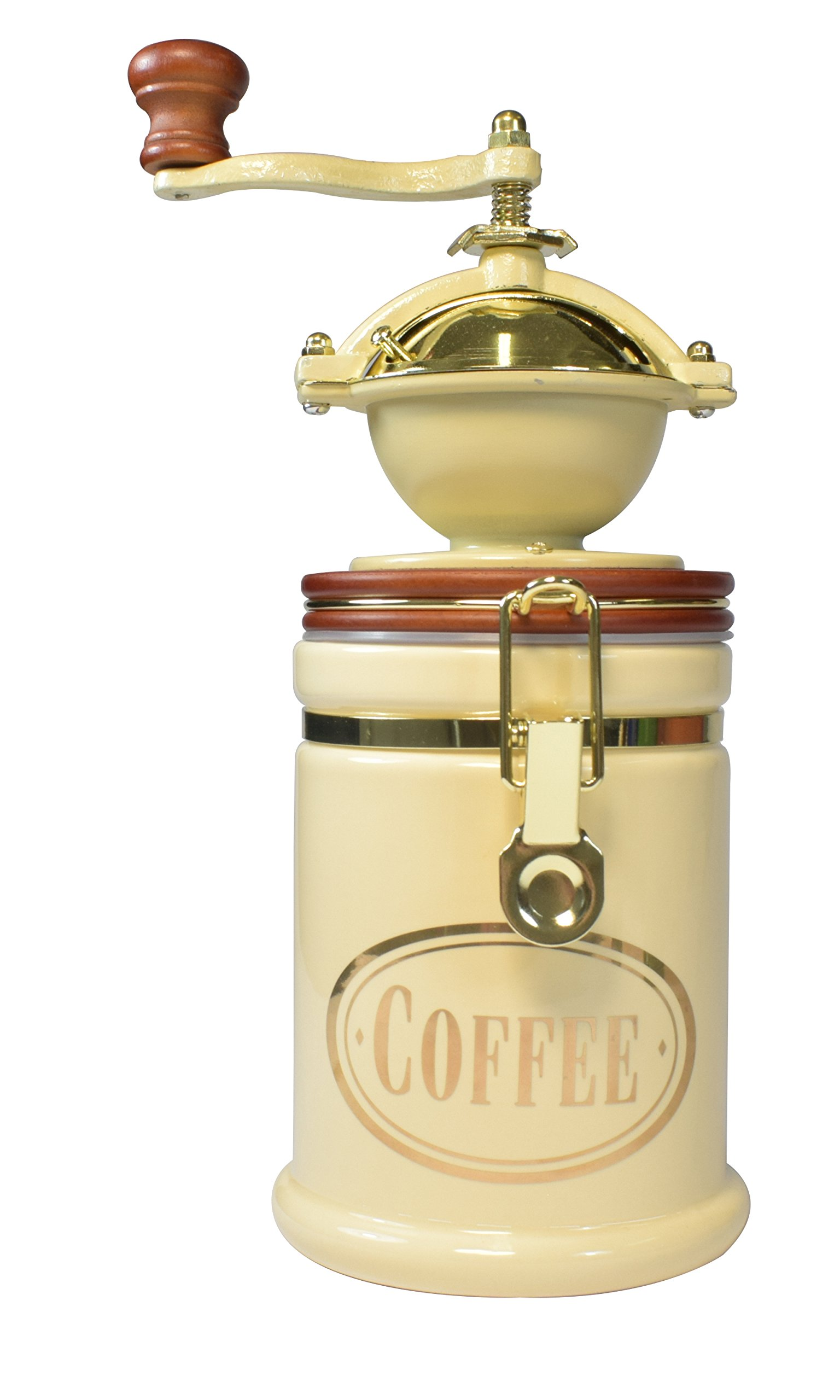 Bisetti 61524 Volluto Coffee Grinder, Cream by bisetti (Image #1)