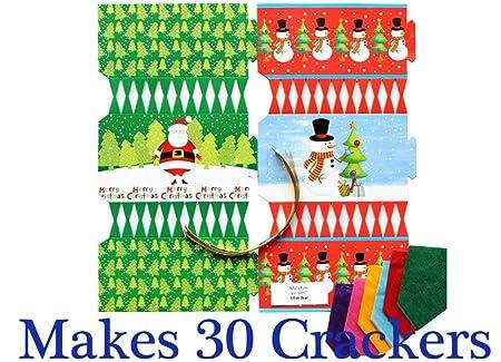 8 Winter Wonderland Mix Make /& Fill Your Own DIY Christmas Cracker Craft Kit