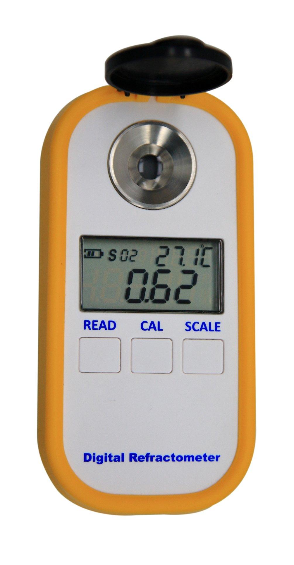 Digital Coffee Densitometer, Coffee Concentration Refractometer, Sugar Drinks Density Meter, Portable Coffee Brix TDS Meter by AMTAST (Image #2)