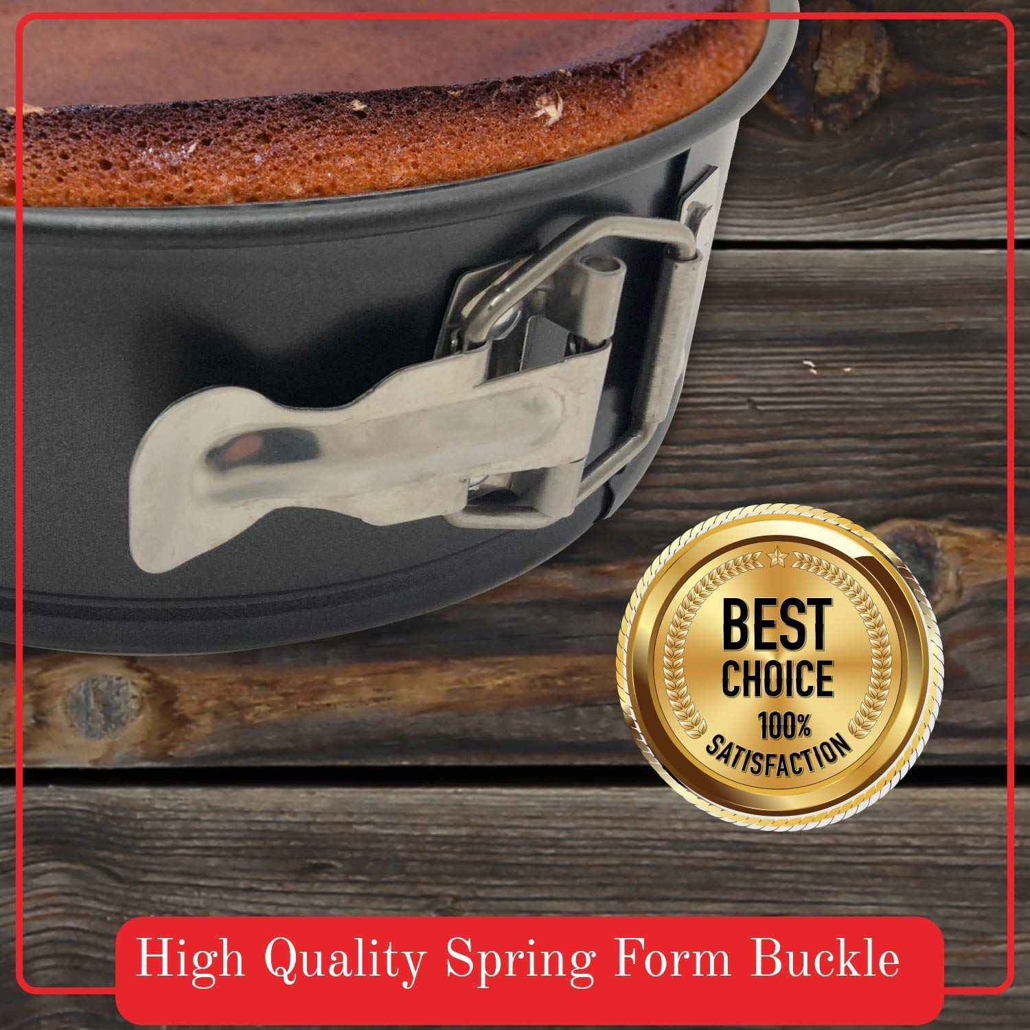 8 inch Quick /& Carry Springform Pan for Instant Pot Electric Pressure Cookers