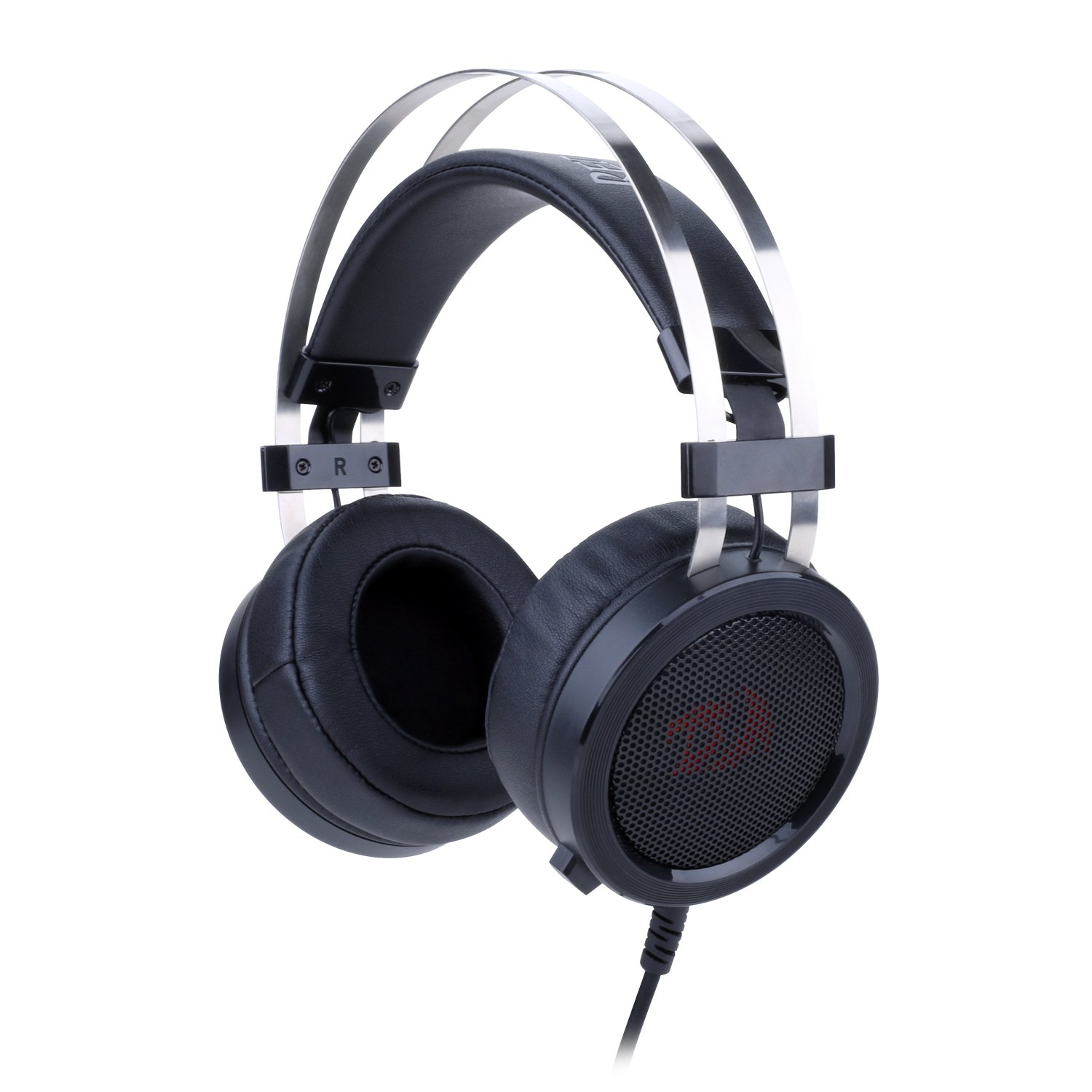 eba40be8aa88b8 Redragon H901 Gaming Headset with Microphone for PC, PC Gaming Headphones  with Mic and Built-in Noise Reduction Works with PC, Laptop, Tablet,  Playstation 4 ...