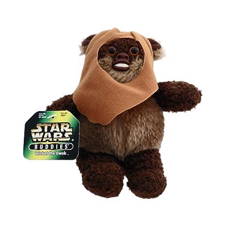 Amazon Com Star Wars Wicket The Ewok Plush Toys Games