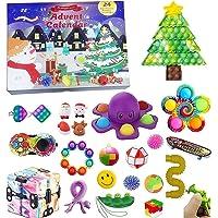 Fidget Advent Calendar 2021 Christmas Toy Set, Xmas Countdown Calendar 24 Days Sensory Fidget Toy Set Advent Calendars…