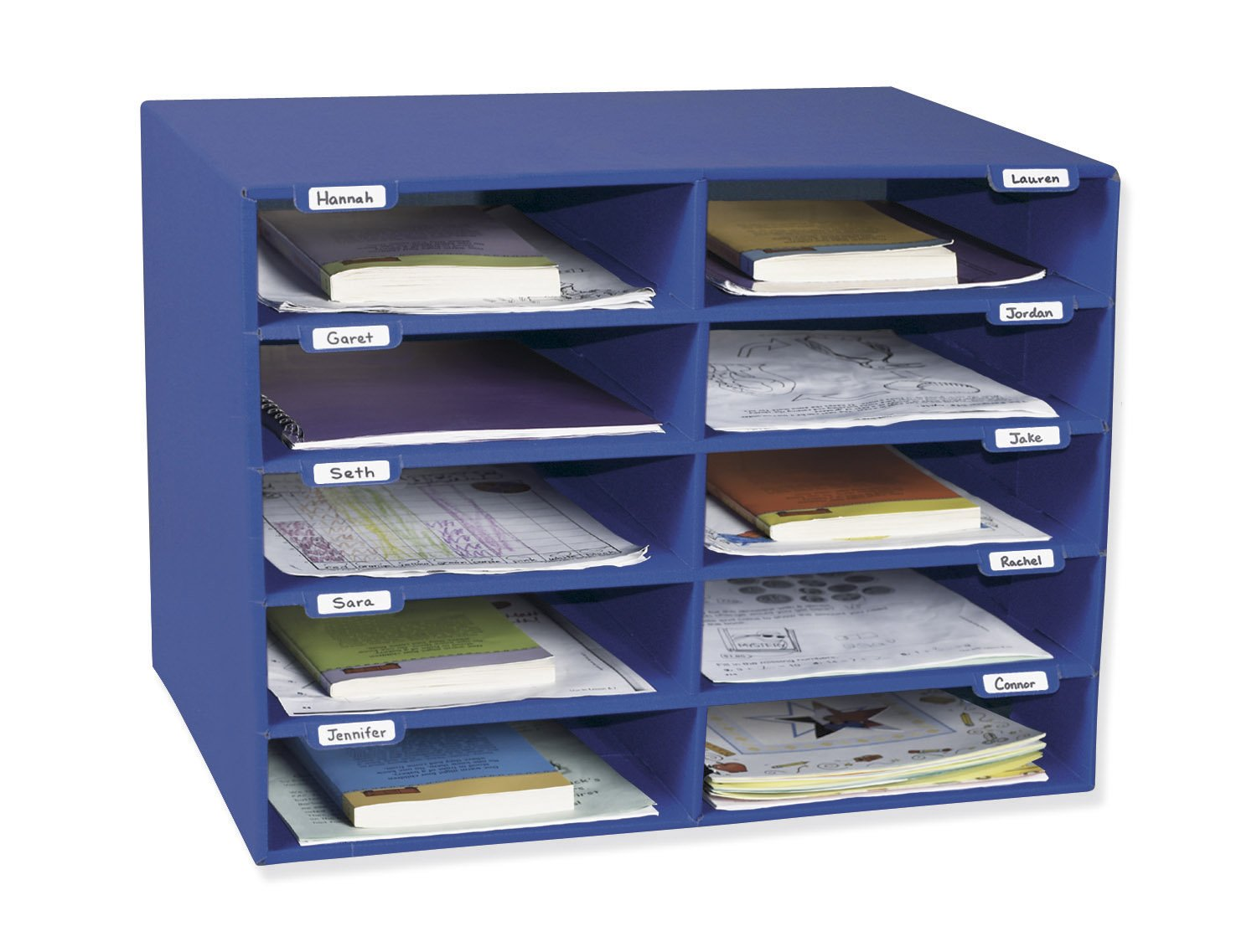 Amazon.com : Classroom Keepers 15 Slot Mailbox, Blue (001308) : Mail  Sorters : Office Products