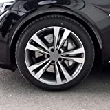 LucaSng 2 Pcs Car Wheel Eyebrow Arch Trim Lips