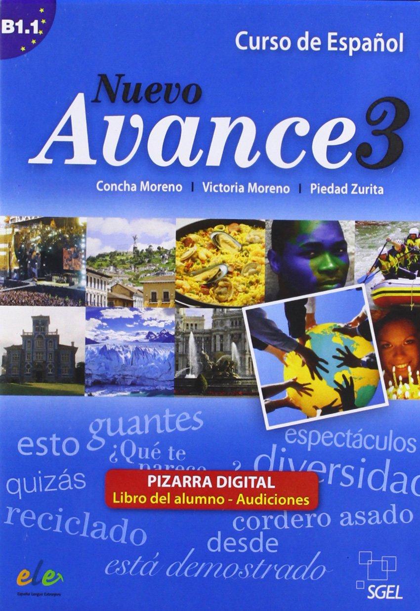 Nuevo Avance 3 pizarra digital: Amazon.es: Concha Moreno ...