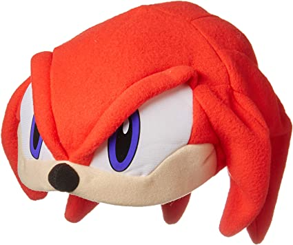Great Eastern Sonic The Hedgehog Series Knuckles Fleece Cap At Amazon Men S Clothing Store Childrens Costume Headwear And Hats