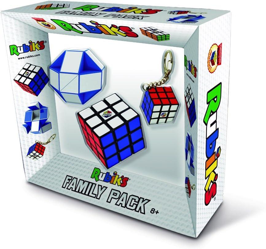 Rubik´s - Pack de cubos para familia (Goliath 72142006) , color/modelo surtido: Amazon.es: Juguetes y juegos