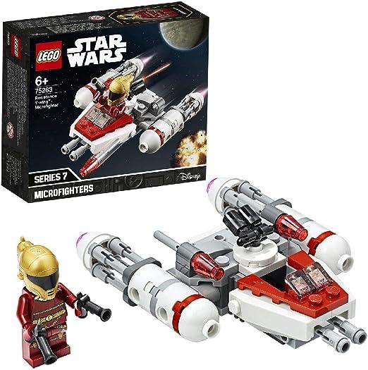 LEGO Star Wars - Microfighter: Ala-Y de la Resistencia, Juguete de ...