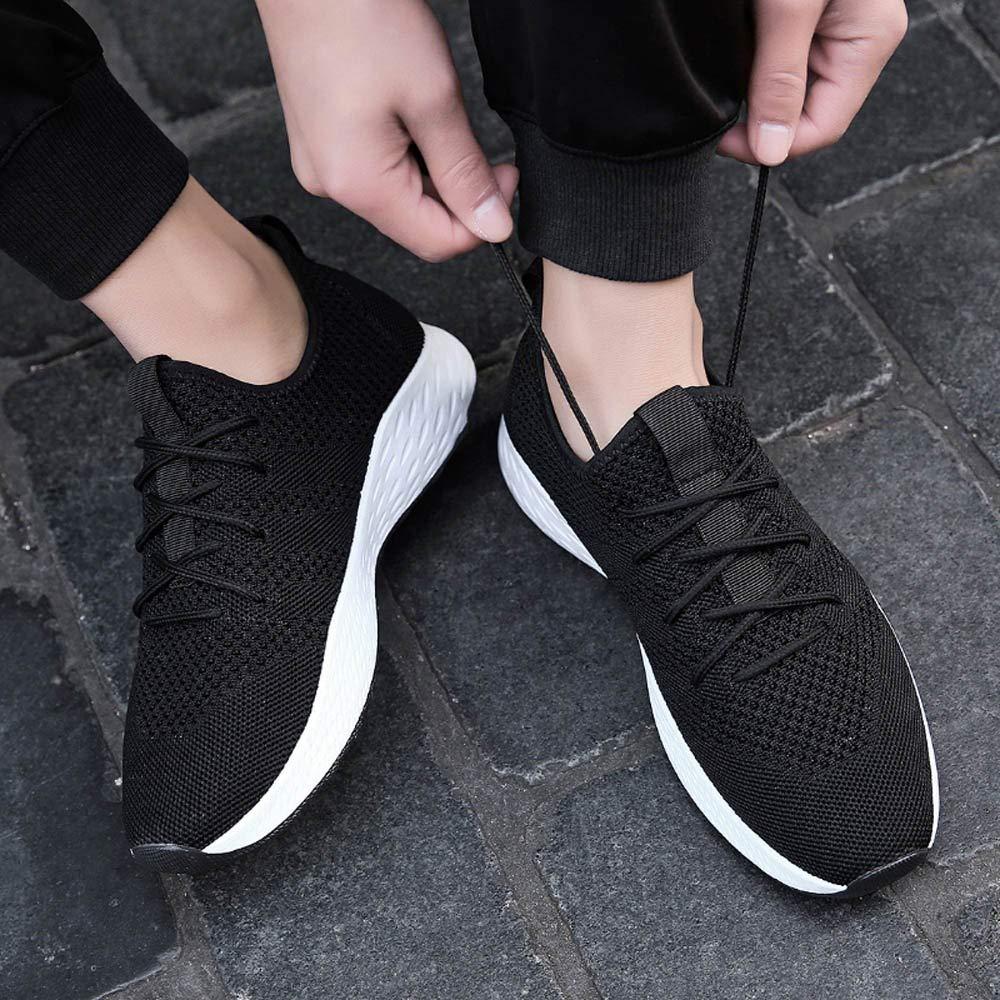 Homme Chaussure de Sport en Plein Air Overmal Haute Qualit/é Baskets Mode Casual Respirantes Poids l/éger Comfortable Semelle Souple R/ésistant /à lusure Lacets Running Shoe Sneakers