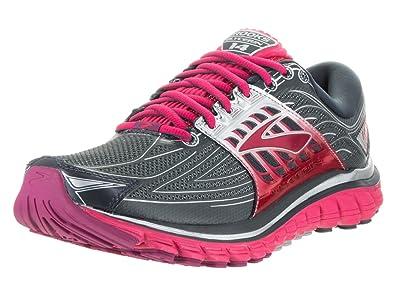 86222a3a75266 Brooks Women s Glycerin 14 Anthracite Azalea Silver Sneaker 8 D - Wide