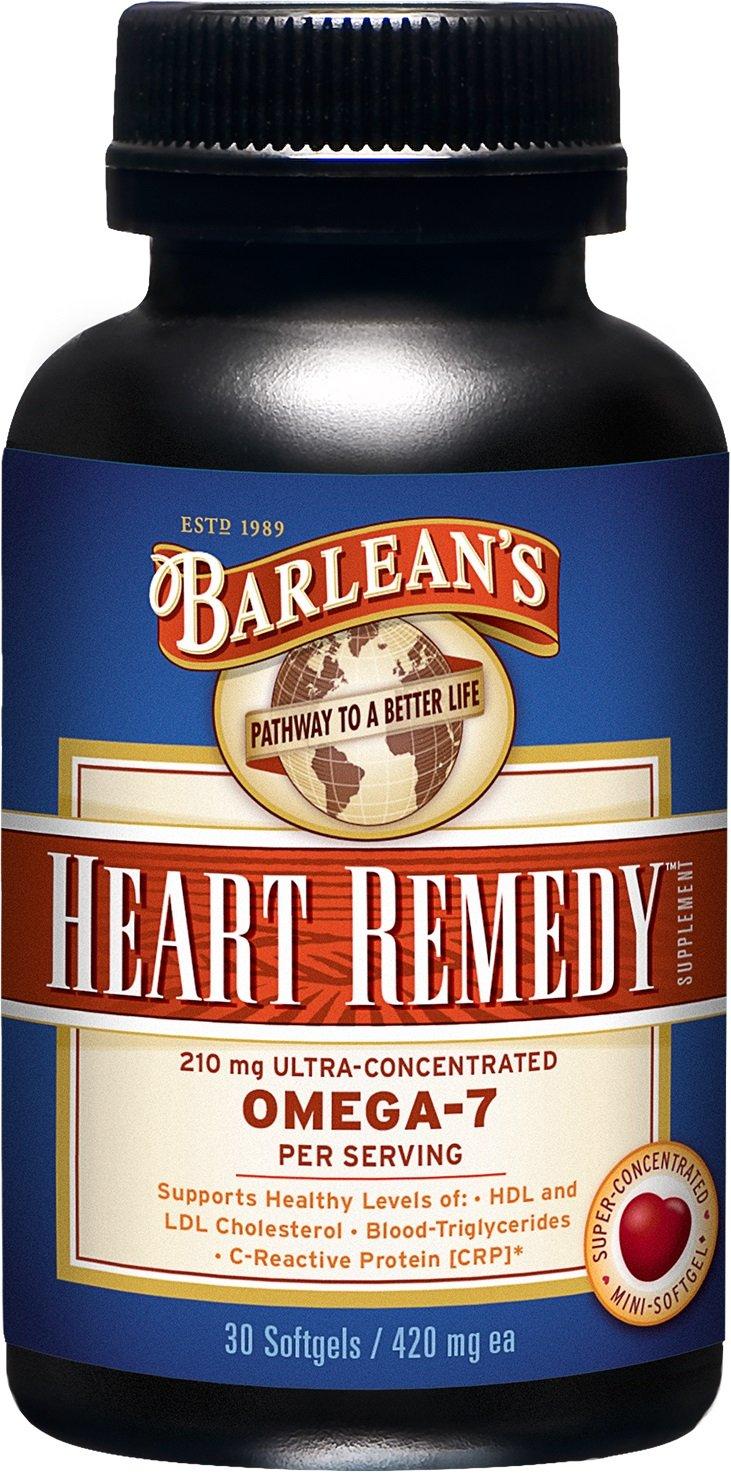 Barlean's Heart Remedy Mini Soft Gels, 420 Milligrams each, 30 Count