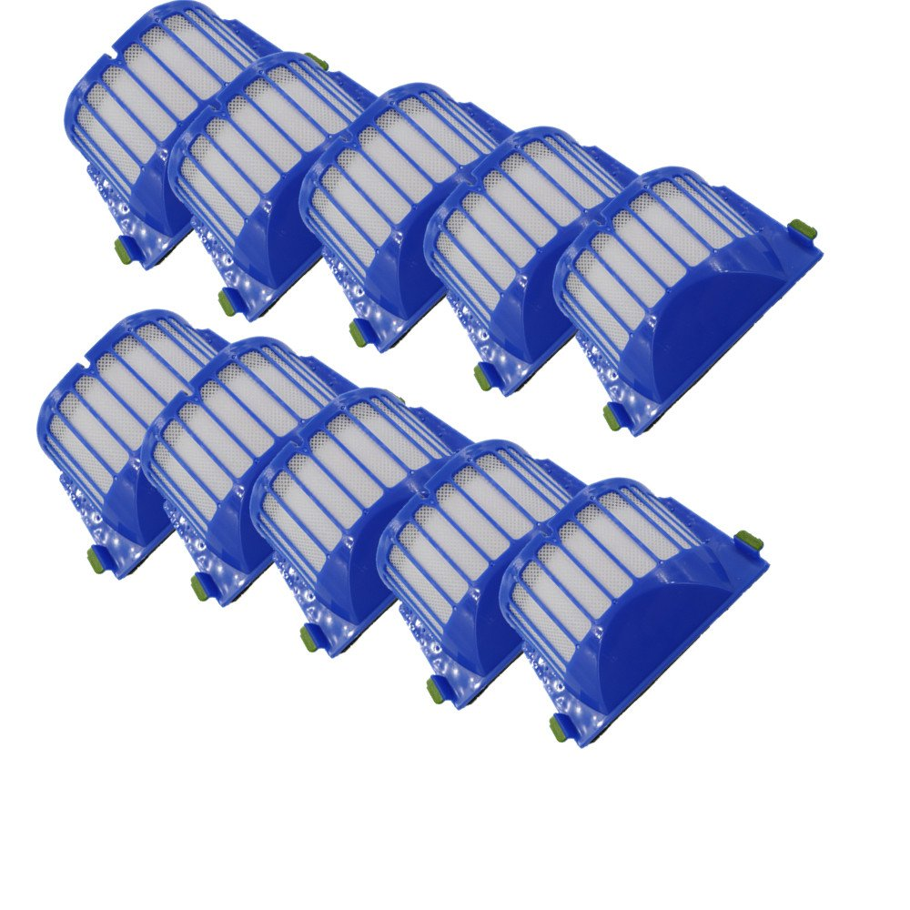 LOVE(TM)Replacement Filters For Robot 500/600 Series Aerovac 536,550,551,552,564 (10) by LOVE(TM) (Image #1)