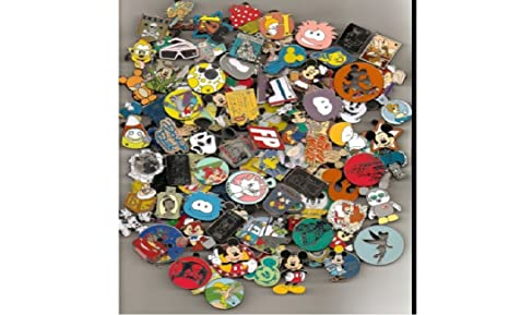 1c8f4a748 Amazon.com: Disney Official Trading Pin Lot of 25 Lapel Collector ...