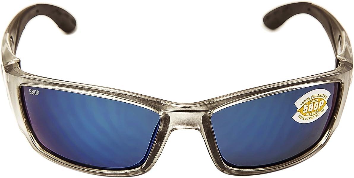 0c636d4c2e Amazon.com  Costa Del Mar Corbina Sunglasses Silver   Blue Mirror ...