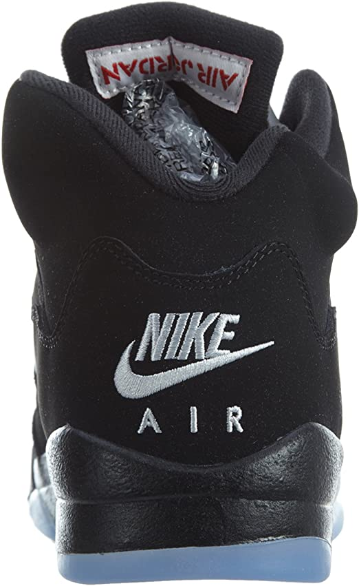on wholesale reasonably priced hot sale online Amazon.com | Jordan Kids' Nike Air 5 Retro Og Bg Lack/Silver ...