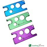 3-Pack Essential Oil Tool by Soothing Terra - Universal Metal Key Tool Opener and Remover for Bottle Caps and Roller Bottles.