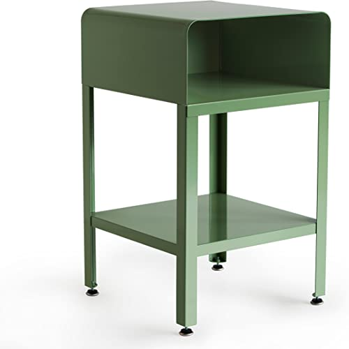RMP Retro Metal Nightstand – Green