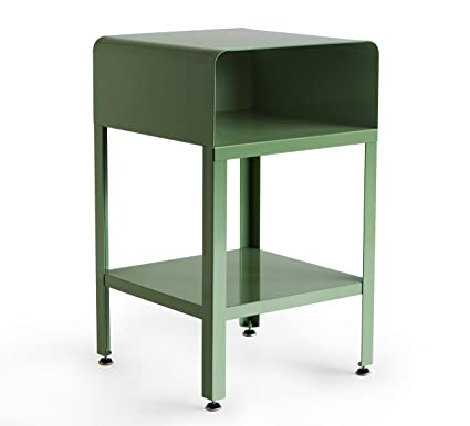 Incroyable RMP Retro Metal Nightstand   Green
