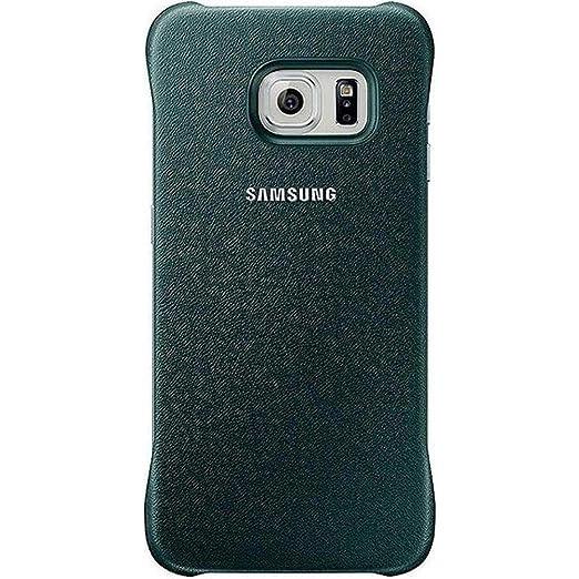 39 opinioni per Samsung Custodia Protective Cover in Similpelle per Galaxy S6 edge, Verde [EU]