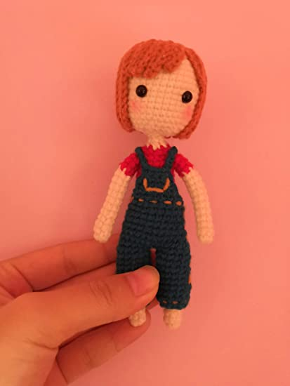 Amigurumi Baby Doll Keychain Crochet Free Patterns - Crochet ... | 550x413