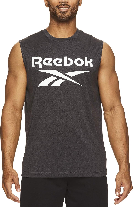 Details about  /Reebok DU4296 Men Running RE AC Singlet Sleeveless Tank TOP black