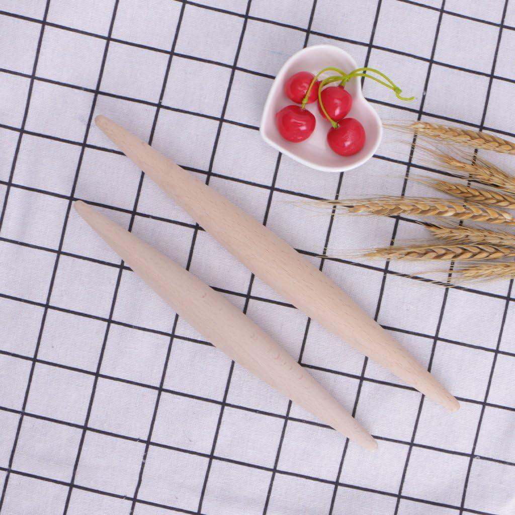 MB-LANHUA 28//23 cm en Bois Cuisine Rouleau /À P/âtisserie Cuisson G/âteau Pain Pizza Ustensile De Cuisine Outil 1#