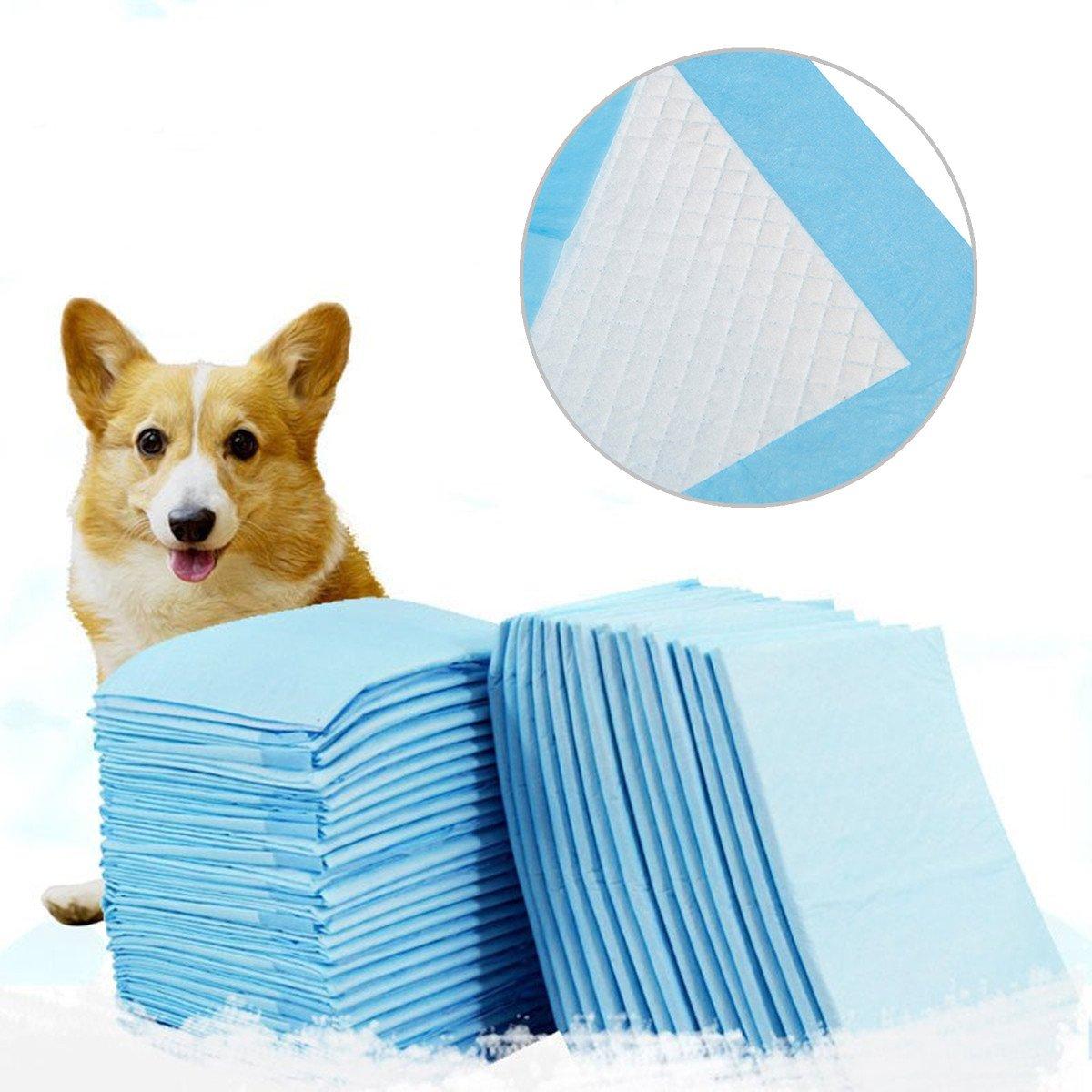 Global Brands Online Pet Training Puppy Pads Super Absorbent Pads Pet Training Puppy Pads Pet Supplies