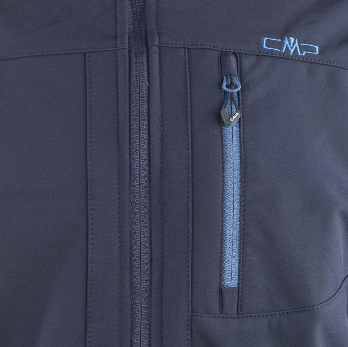 CMP Softshell 3a01787, Giacca Uomo Blu (Bblue/Jeans)