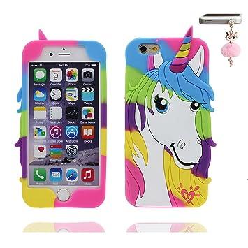 coque iphone 6 licorne 3d