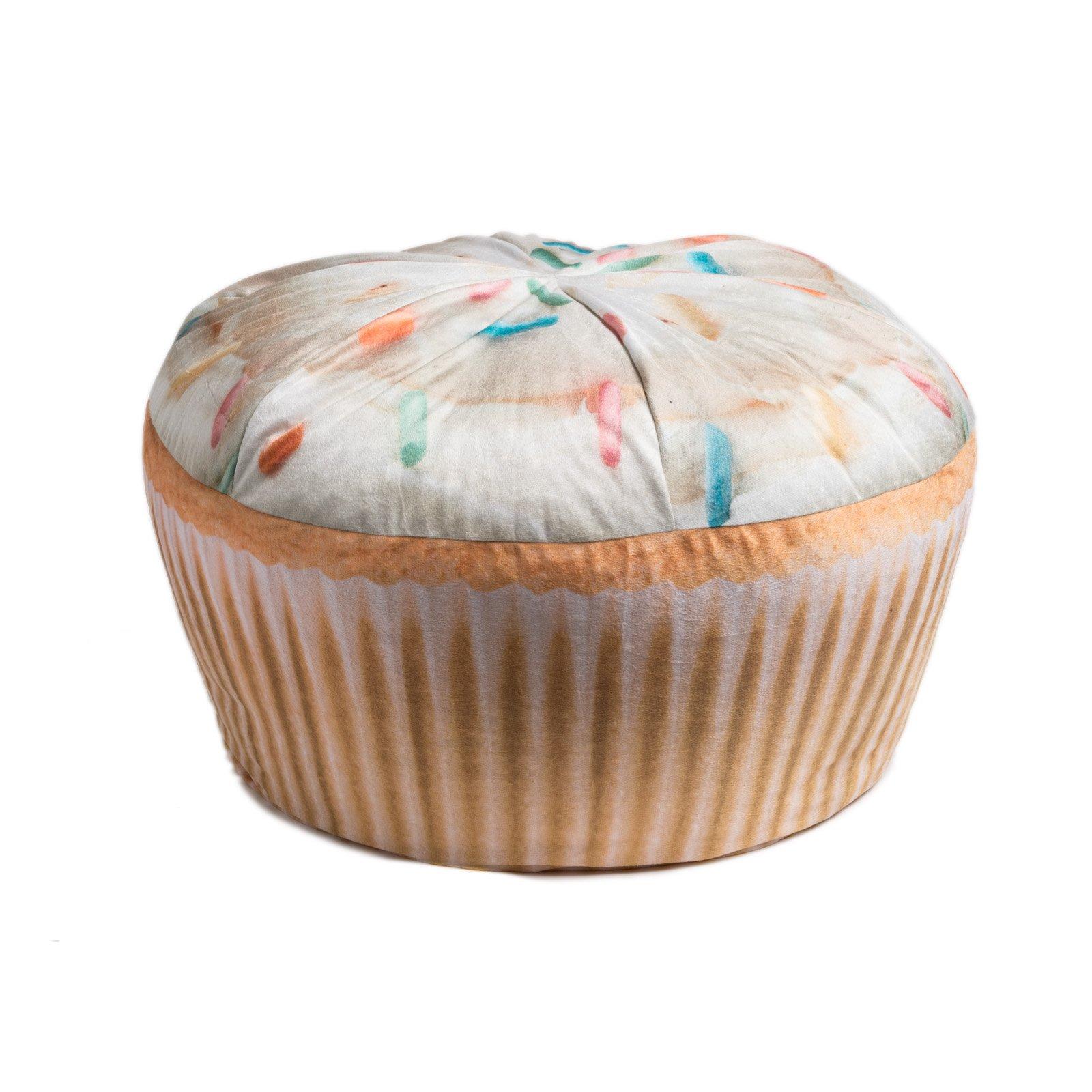 Wow! Works Cupcake Adult Beanbag Chair (86783A)