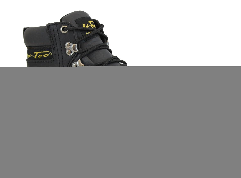 アドテックメンズ6 inファッションSteel Toe Hiker Boots、ブラックサイズ14 D (M) US B003RQACLG