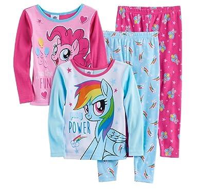 e421b1599 Amazon.com  AME Toddler Girl My Little Pony 4-pc Rainbow Dash ...
