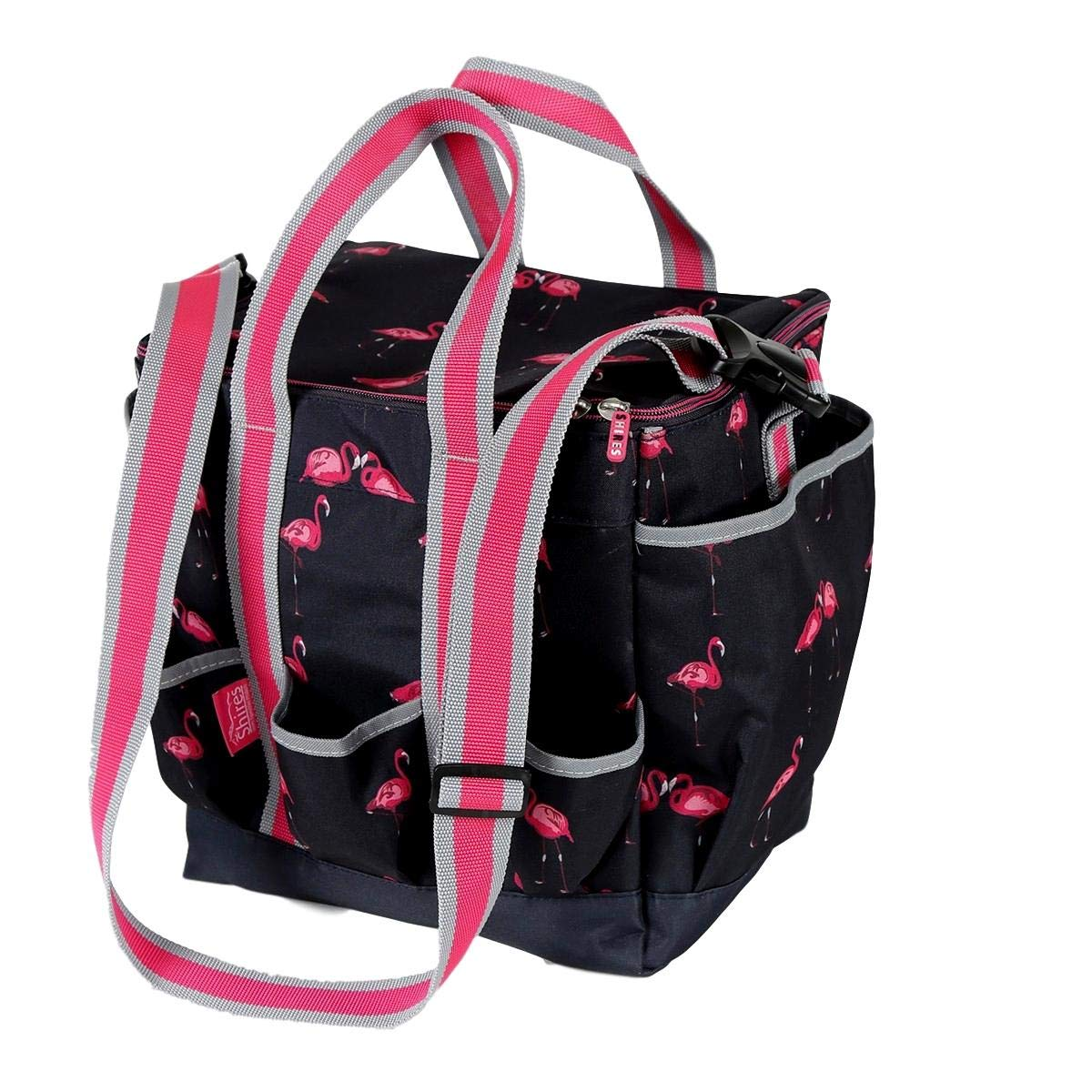 Shires Grooming Kit Cover, Flamingo Print, One Size