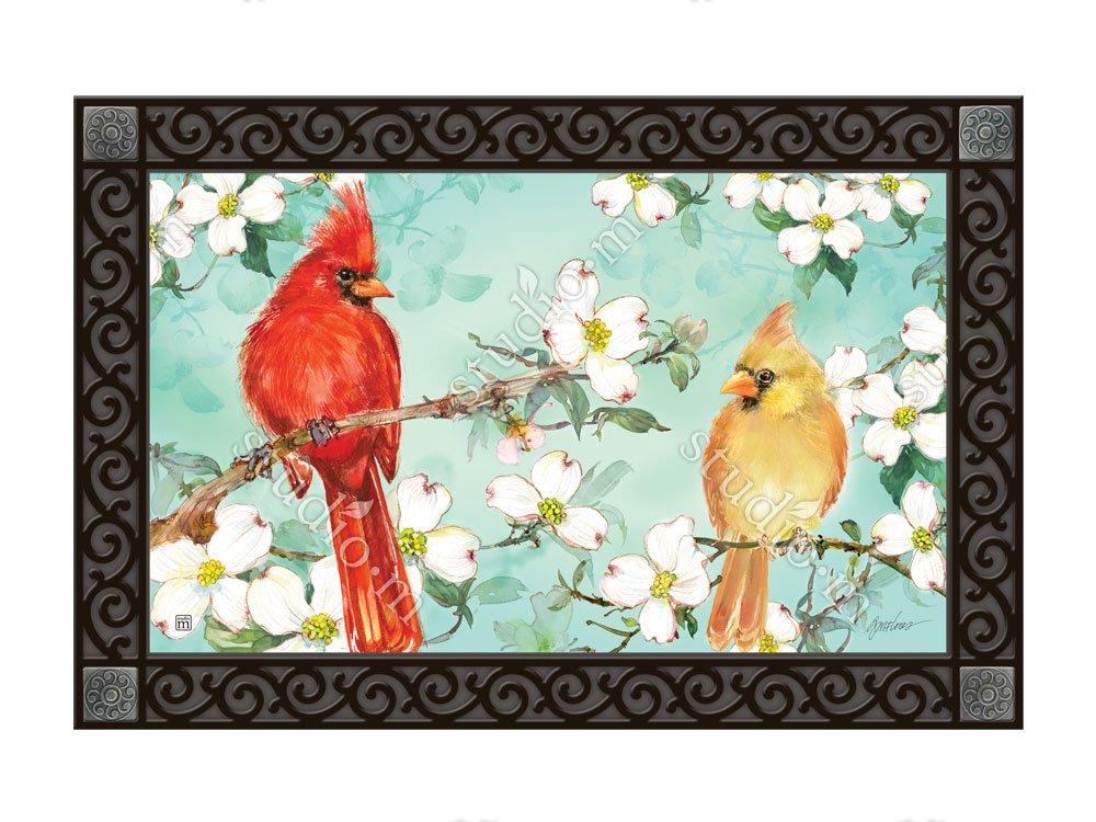 マグネットWorks Matmate – Cardinals In Spring B078RZDQBD