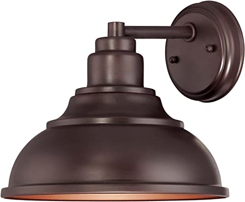 Savoy House 5-5631-DS-13, Dunston DS 1-Light Wall Lantern, English Bronze Outdoor