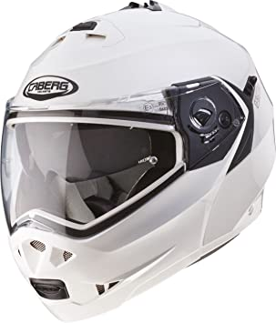 Caberg Duke Motorcycle Helmet S White Metal