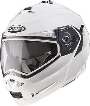 Caberg Duke Motorcycle Helmet S White Metal