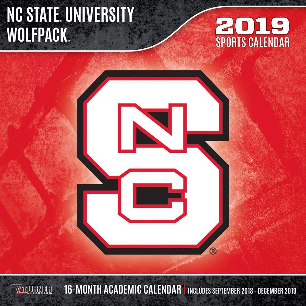 Nc State Calendar 2019 Amazon.com: 2019 NC State Wolfpack Wall Calendar, North Carolina