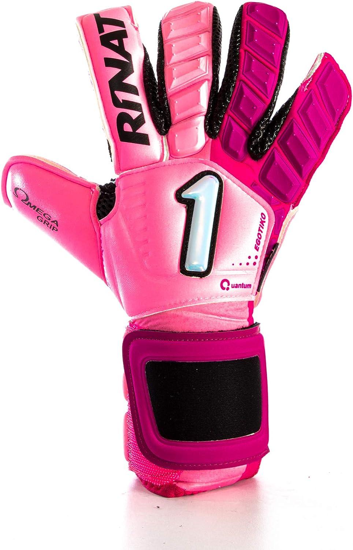 Rinat Goalkeeper Gloves Asimetrik Hunter Pro Pink Edition Golero Sport