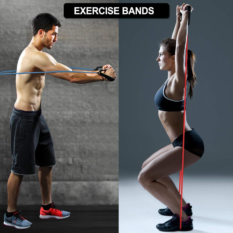 Elastic Bands Fitness Resistance Band Door Anchor Crossfit Yoga Body Building