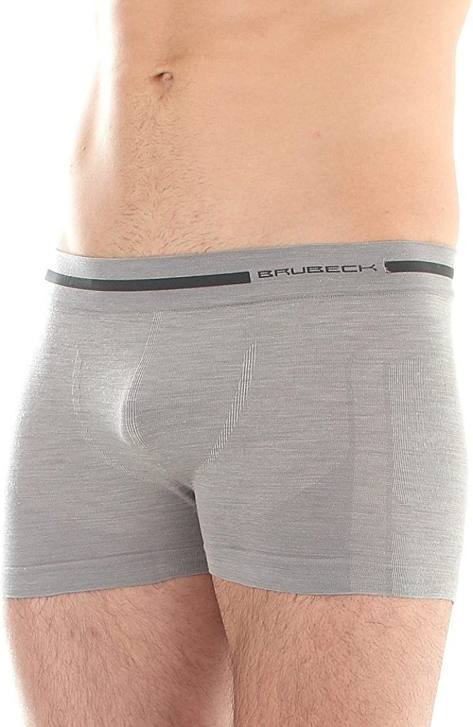 Brubeck BX10430 Comfort Wool Merino Wool Boxer Shorts for Men