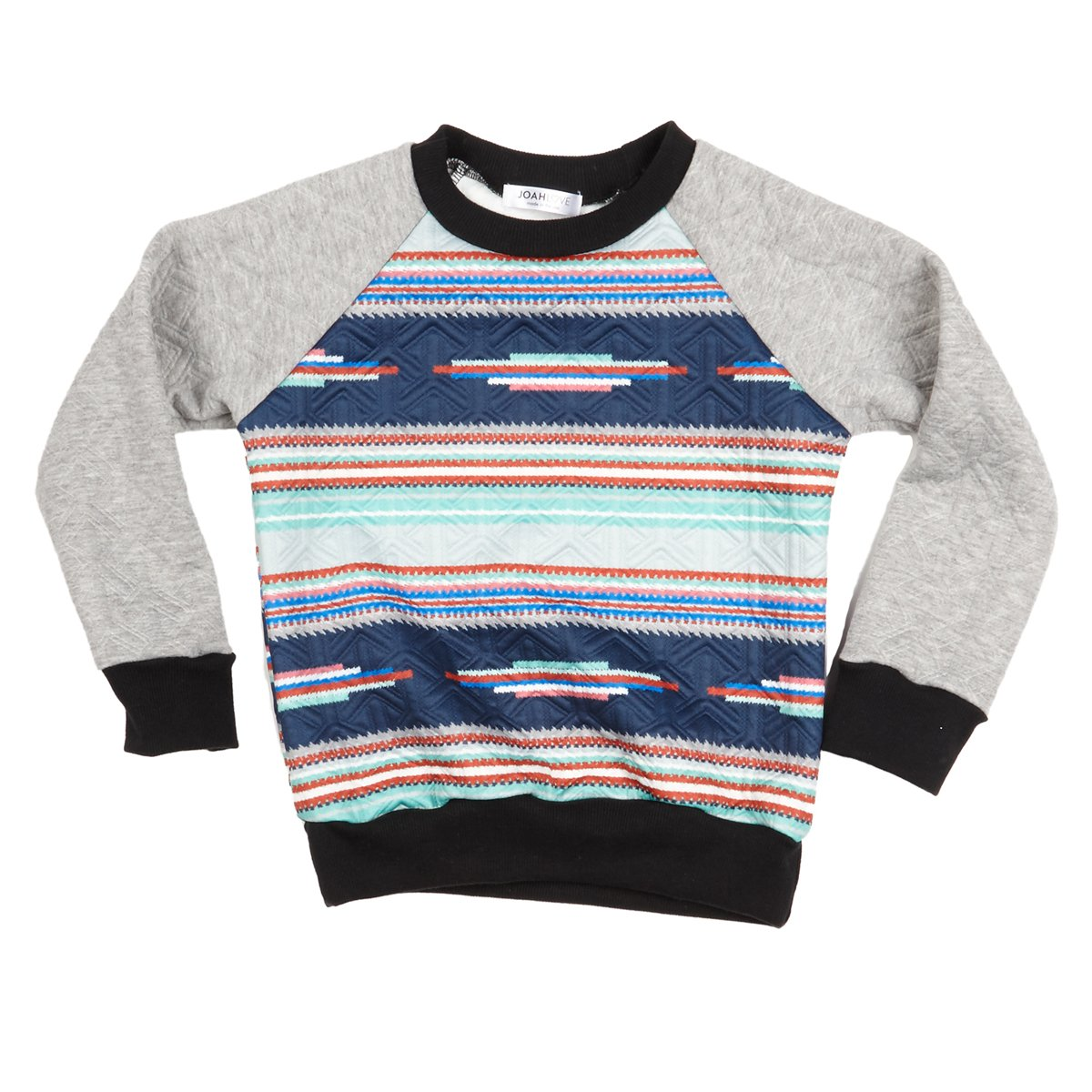 Joah Love Big Boys' Gordon Quilted Sweatshirt, 2